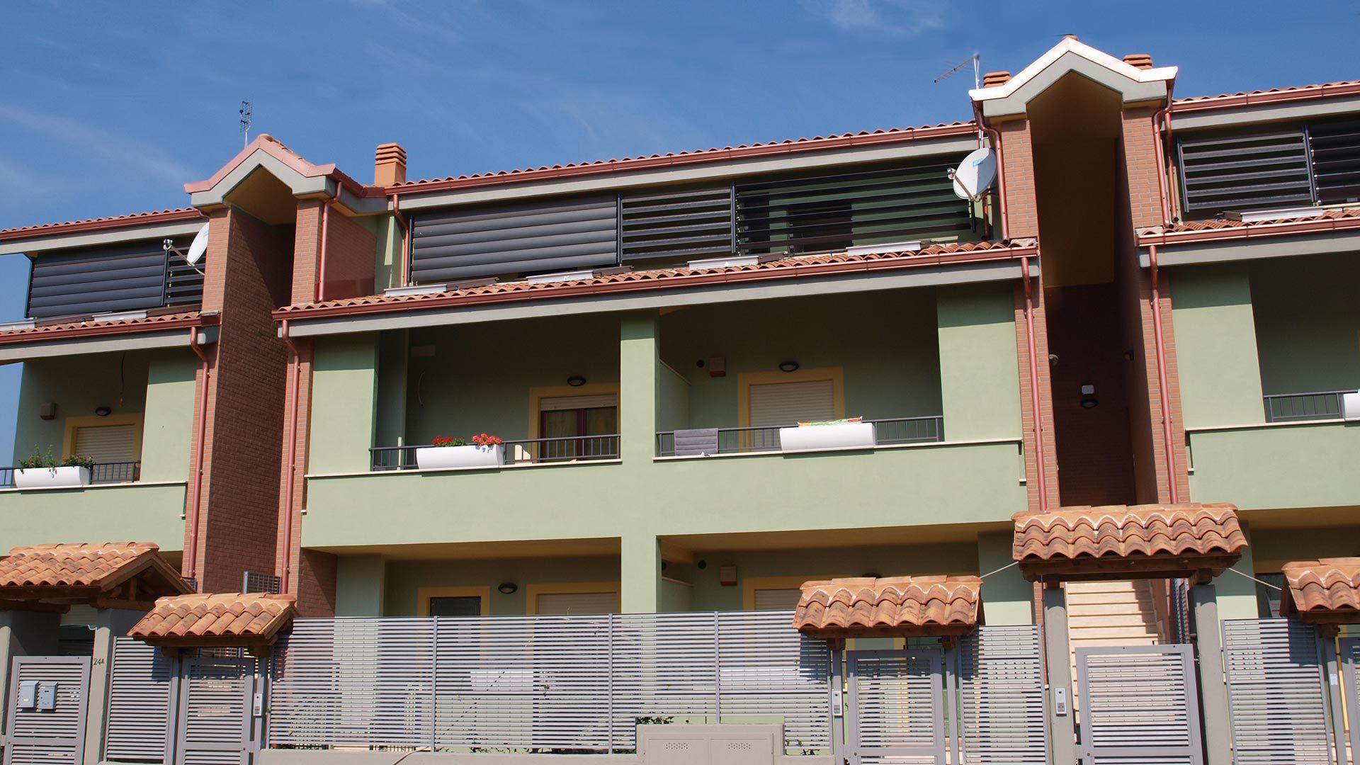 Nuove costruzioni giardini di corcolle roma residenze for Vendita case a roma da privati