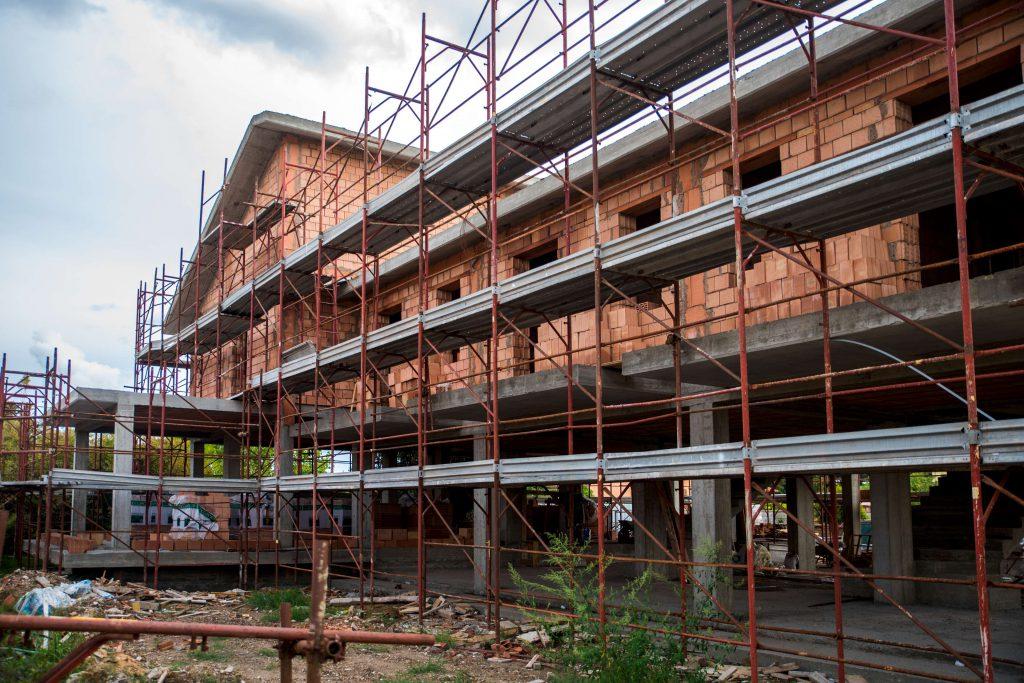 ville nuova costruzione ostia antica