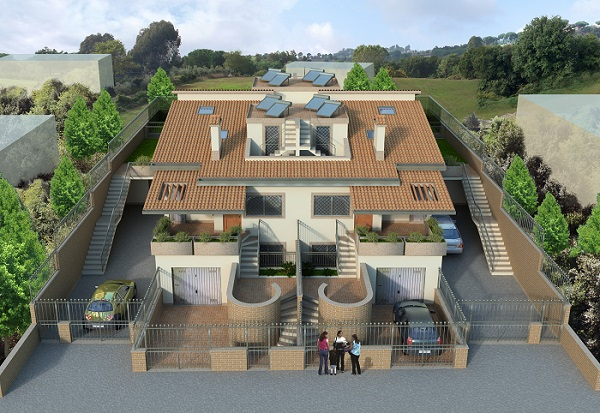 Vendita terreno edificabile Pisana - Roma
