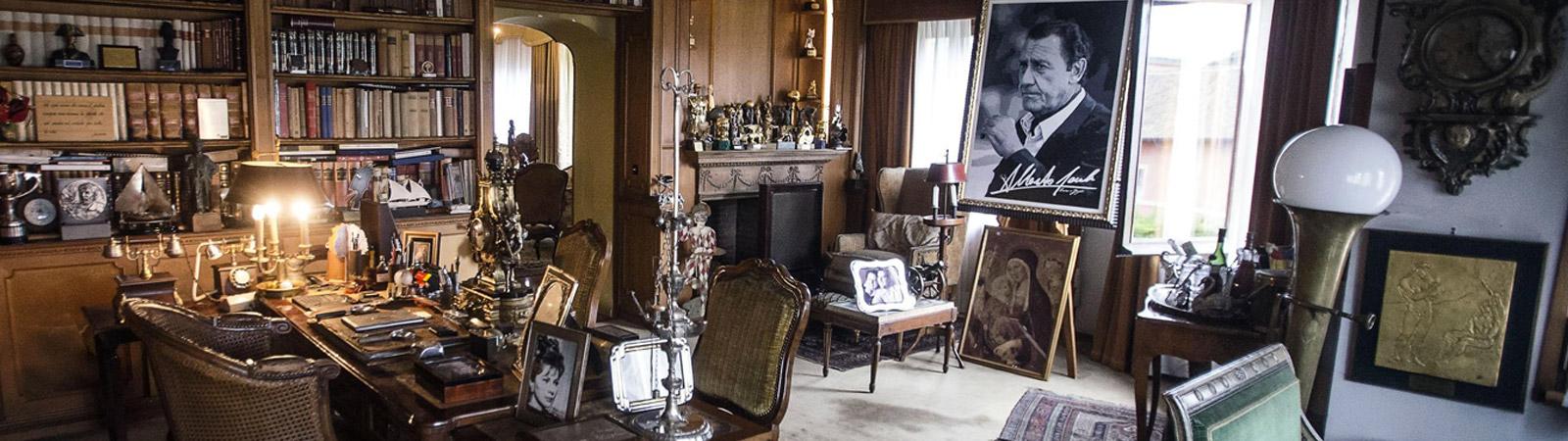 Villa sordi a roma la casa di alberto sordi nella for Case vip roma