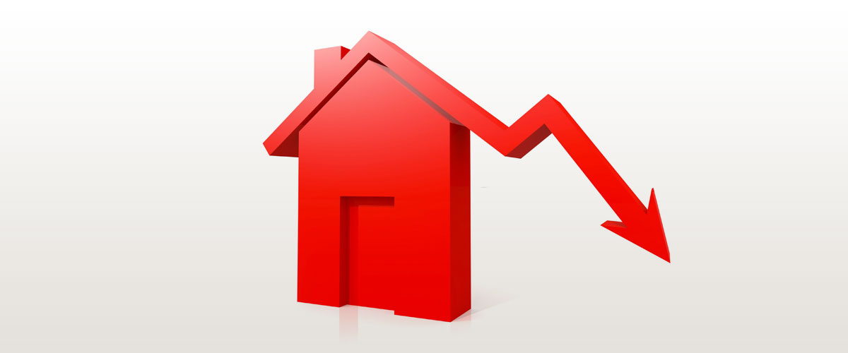 prezzi immobili in calo