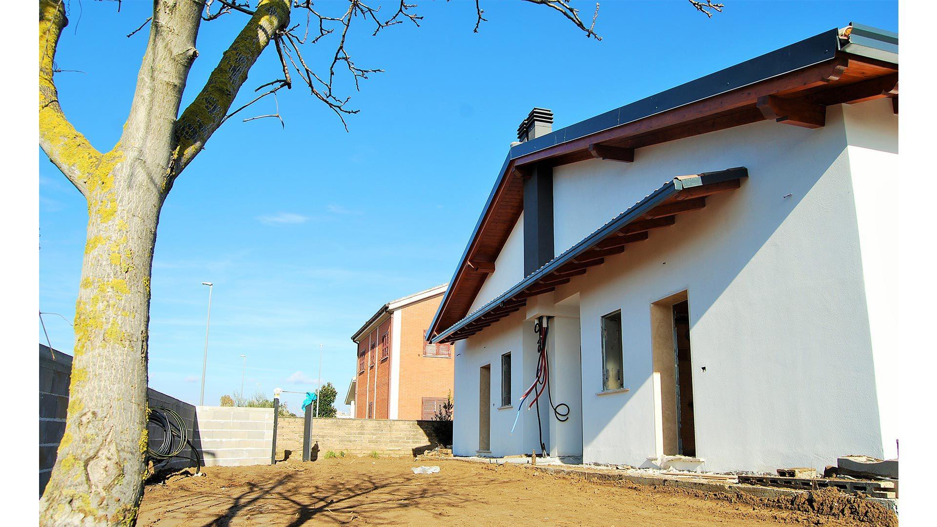 villini nuova costruzione acilia