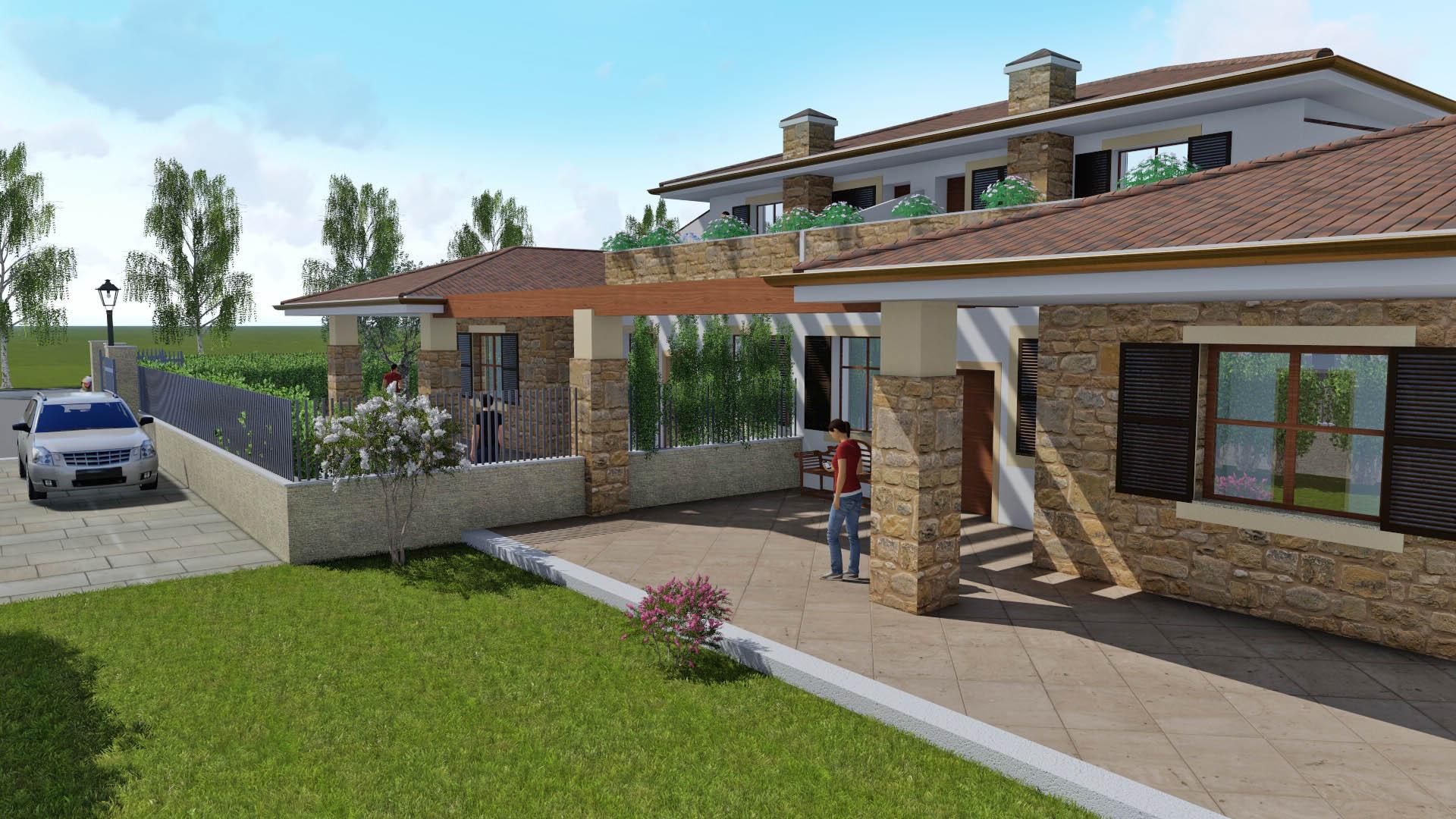 Progetto cava pace a roma ville di nuova costruzione for Progetto ville moderne nuova costruzione